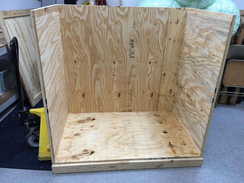 1. Crate Frame